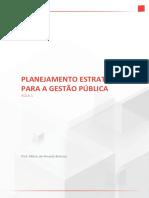 Planejamento Estrategico Na Gestao Publica