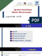 Chapitre 3_Intégration Numérique