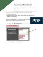 Instructivo Asistencia Remota TecnoMax CPROVIDENCIA