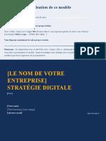 FR - [modèle] Stratégie de Marketing sur les Médias Sociaux  [Pour utiliser les modèles de ce tableur Google Sheets, faites-en une copie ou téléchargez-les]