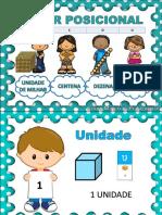 Valor Posicional Cartaz - Grupo Materiais Pedagógicos