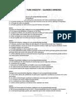 QCM-Abdmen-Péritoine-Tube-Digestif-et-Glandes-Annexes