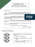 Cuadernillo Prácticas del Lenguaje 1 grado 2019