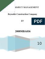 reynold construction