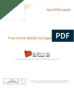 caricamento – traduzione – condivisione MSDS