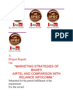 document of airtel and recom
