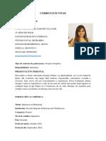 CURRICULUM VITAE PAOLA NARANJO 2020