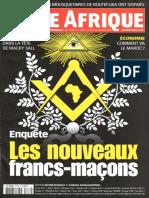 Jeune Afrique - Les nouveaux francs-maçons