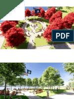 Essential Workers Monument Renderings