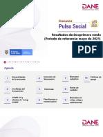 2021-05 Encuesta Pulso Social - 11va Ronda