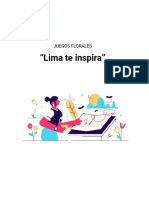 PROPUESTAS DE BASES - LIMA TE INSPIRA