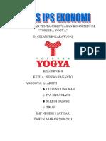 Hasil Penelitian Tentang Kepuasan Konsumen Di Toserba Yogya