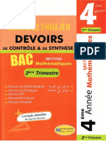 Kounouz_Ennajah_Devoirs_Controle_Synthese_2_trimestre_Bac_Math_ocr