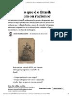 O mosaico que é o Brasil_ mestiçagem ou racismo_ _ Artes _ PÚBLICO