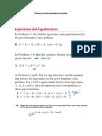 Primer Parcial de Matemáticas Avanzadas