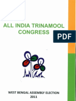 Trinamool Congress' Manifesto for 2011 WB Polls