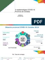 Informe epidemiológico - Semana 24 2021