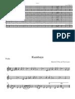 Kumbaya - score and parts