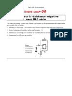 ELCIN_40 Oscillateur a resistance negative avec RLC serie