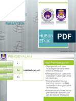 Hubungan Etnik 2011 - Cabaran Hubungan Etnik