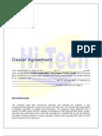 Dealer Agreement NEW