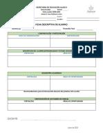 Ficha Descriptiva Alumno y Grupo 20-21