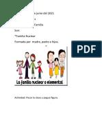 SOCIALES-TIPOS DE FAMILIA