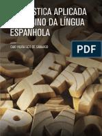 LIVRO PROPRIETÁRIO LINGUÍSTICA APLICADA AO ENSINO DA LÍNGUA ESPANHOLA