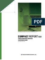 (주)대우인터내셔널 Compact Report(ER2)