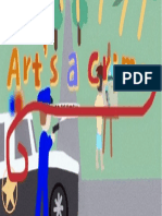 Arts a Crime Illustration