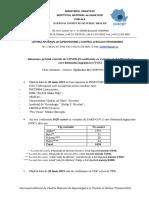 Informare Cazuri Cu Variante Care Determina Îngrijorare (VOC)