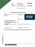 brevet FLOTTEUR ARTICULE POUR PLATEFORME FLOTTANTE