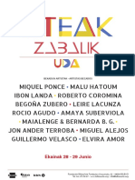 Ateak Zabalik Uda 2021