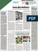 """La """"Rivoluzione dei dottori"""" - Il Resto del Carlino del 17 marzo 2011"""