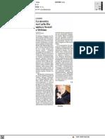 La mostra su Carlo Bo unisce Sestri e Urbino - Il Secolo XIX del 23 giugno 2021