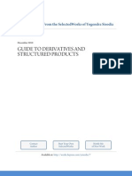 Guide to Derivatives and Structured Products