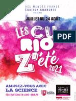Curioz'été 2021 en Charente