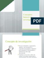 Conceptos Basicos en Investigacion 1