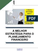 A Melhor Estrategia Para o Planejamento Financeiro