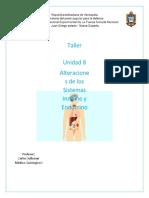 Taller unidad 8 Alteraciones de los Sistemas Inmune y Endocrino Pola Marcano