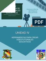 PASOS PARA CREAR VIDEOTUTORIALES EDUCATIVOS