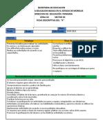 Ficha Descriptiva Del Grupo 2020 2021 Editable II