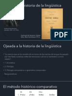 Ojeada a la historia de la lingüística