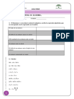 examen tema10 EXPRESONES ALGEBRAICAS