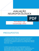 Aula 1 - Avaliação neuropsicológica de adultos