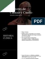 Tumores de Cabeza y Cuello. Version Final.