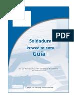 GUIA DE PROCEDIMIENTO DE SOLDADURA