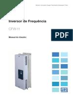 WEG Cfw 11 Manual Do Usuario Mec. f a h 10000694773 Manual Portugues Br