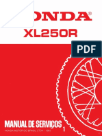 Honda Xl 1983 en Portuges
