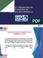 8. Uso y Cuidado de Epp